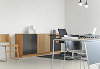 Rénover un bureau à Houtteville